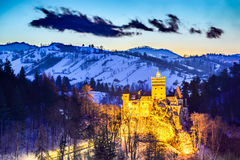 Bran Castle - Romania, Transylvania Stock Photography