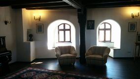 Bran Castle room. Just some picture i have taken during my trip to the Bran Castle Royalty Free Stock Image