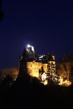 Travel Romania: Bran Castle Evening stars Royalty Free Stock Photos