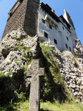 Bran Castle situated near Bran and in the immediate vicinity of Braşov Stock Image