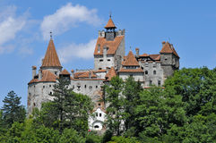 Bran castle in Transylvania. Romania Royalty Free Stock Photo
