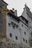 Bran castle in Transylvania, Brasov region of Romania stock photo