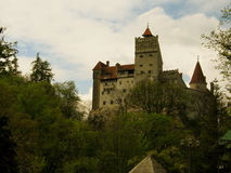 Bran Castle in Transylvania. Bran Castle - Dracula`s Castle. Bram Stoker, who fashioned portions of his character Count Dracula based on aspects of Vlad the Royalty Free Stock Photos