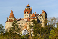 Bran castle in transylvania, romania Royalty Free Stock Image
