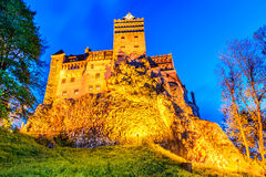 Bran Castle - Transylvania, Romania Royalty Free Stock Images