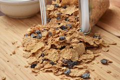 Bran cereal Royalty Free Stock Images