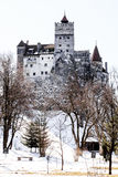 Bran Dracula castle street view Stock Photos