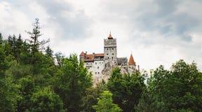 Bran or Dracula Castle in Transylvania, Romania Royalty Free Stock Photo