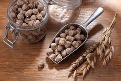 Bran fiber. dietary product Stock Photography
