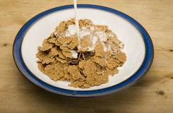 Bran Flakes Stock Photos