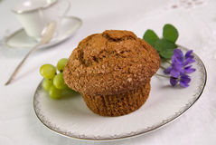 Bran muffin Stock Image