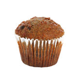 Bran muffin. Isolated on white background Stock Photo