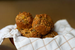 Bran Muffins Stock Photos
