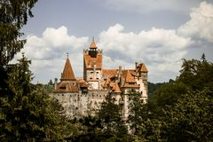 Bran Castle, Romania. The mysterious abode of the vampire Dracula Stock Images