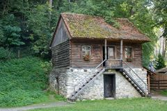 Bran Village Museum. stock images