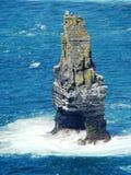 Branaunmore Overzeese Stapel bij Klippen van Moher Ierland stock foto's