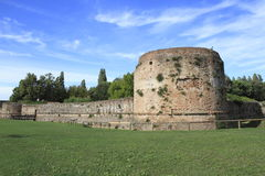 Brancaleone ancient fortress Stock Images