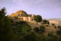 Brancaleone Superiore, Calabria, Italy Stock Photography