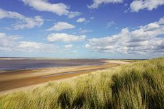 Brancaster beach. Royalty Free Stock Image