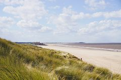 Brancaster beach. Royalty Free Stock Photo