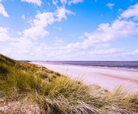 Brancaster beach. Royalty Free Stock Photos
