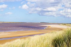 Brancaster beach. Stock Photography