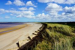 Brancaster beach. Stock Photos