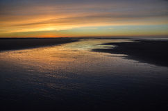 Brancaster plaża zdjęcie royalty free