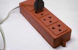 Branchés dispositifs électriques image stock