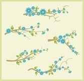 Branch design set Stock Photography
