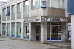 Branch of Deutsche Bank Royalty Free Stock Image