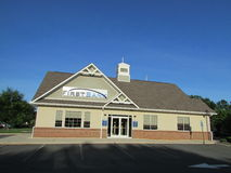 Branch of The First Bank in New Jersey. USA. Г. Stock Photo