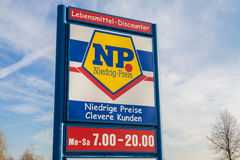 Branch from NP supermarket chain Stock Photo