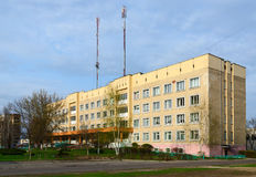 Branch number 3 of Gomel central city polyclinic, Gomel, Belarus stock photos
