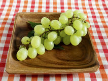 Branch of ripe grapes Stock Image