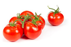 Branch ripe tomatoes Stock Photos