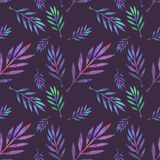 Branch. Seamless pattern with cosmic or galaxy Royalty Free Stock Photography
