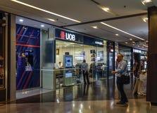 Branch of UOB Bank in Bangkok, Thailand royalty free stock photography