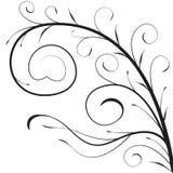 Branche décorative illustration stock