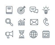 Branche d'activité icônes illustration libre de droits