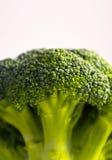 Branche de chou vert savoureux frais de brocoli La photo dépeint un Br Photos stock