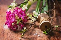 Branche de fleur Photographie stock libre de droits