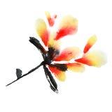 Branche de fleur Images stock