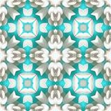 Branche de forme de kaléidoscope de batik Photo stock