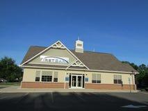 Branche de la première banque dans le New Jersey LES Etats-Unis Ð « Photo stock
