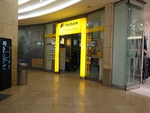 Branche de Postbank d'Allemand photographie stock