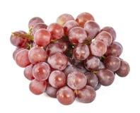 Branche des raisins rouges juteux mûrs photo libre de droits