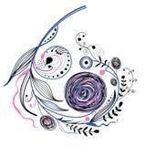 Branchement décoratif Images stock