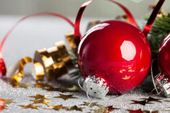 Branchement d'arbre de Noël photos stock