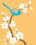 Branchement de Sakura illustration libre de droits